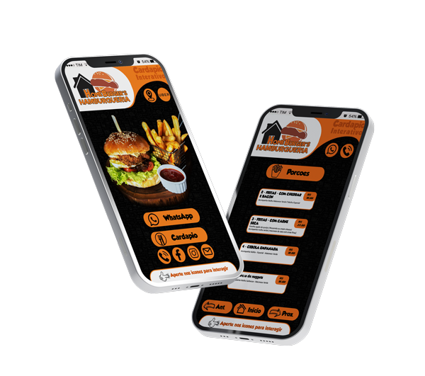 Menu Digital - HomeBurger